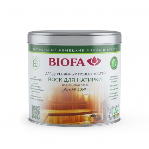 воск для сауны и бани biofa